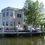 Rear Elevation view from waterway.