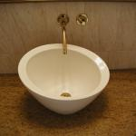 Vessel Sink in Powder Room.